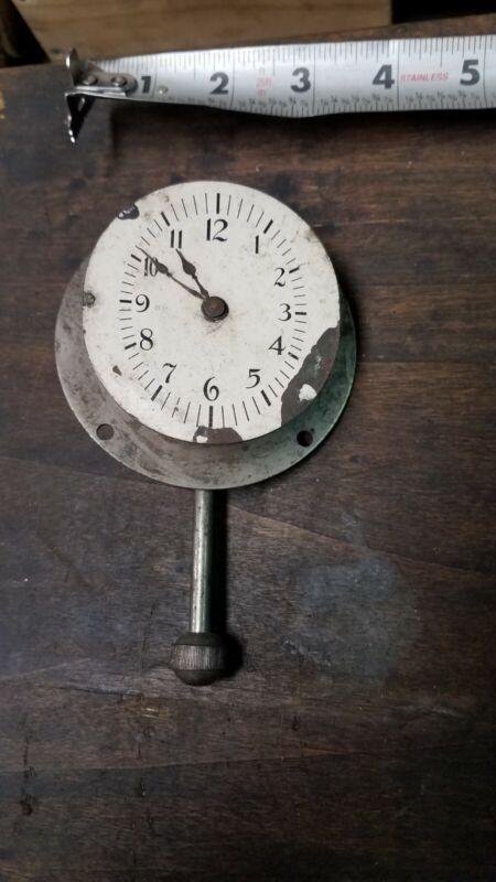 Vintage / Antique Automobile Dashboard Clock Accessory Lux Company Waterbury, CT