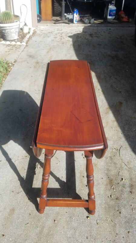 Antique Butterfly Dropleaf Cherry Table