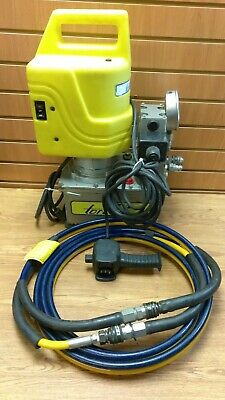 Torcup Ep-500 Hydraulic Torque Wrench Pump 12hp 115v W Remote Hose