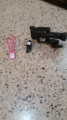 Barbie Doll Accessories TV News Camera, Microphone and Press Pass