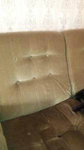 green velvet vintage modular couch lounge retro Clayfield Brisbane North East Preview