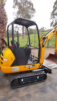 130hrs 1.8Ton JCB excavator for sale. With extended warranty 2018 Warrandyte Manningham Area Preview