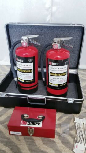 BULLEX Fire Extinguisher Training System In Case - 2 Extinguishers Tools Case