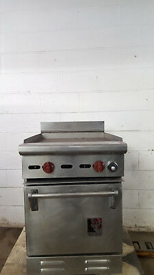 Wolf C235-155 Flat Griddle 22 X 22 Half Size Oven 18 X 22 Natural Gas Tested