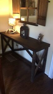 Beautiful x style table (only 1 available )