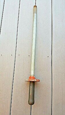 Ridgid 246 Soil Pipe Cutter Handle Assembly Used Condition