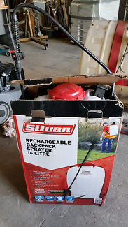Silvan weed sprayer rechargeable