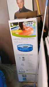 Intex pool, solar heater mat, toys and chemicals Hope Valley Tea Tree Gully Area Preview