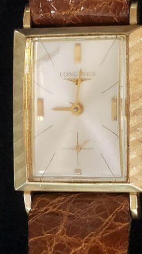 Vintage Longines 10K GF 17J wristwatch 370 movement