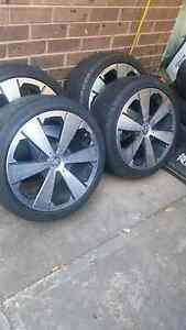 Holden by design alloys with tyres Brahma Lodge Salisbury Area Preview