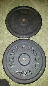 20 kg plates x2 Gawler Gawler Area Preview