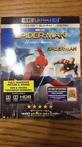 Spider-Man home coming 4k/Blu ray combo