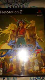 Ps2 game wild arms alter code F ntsc j region