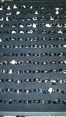 100pc Stainless steel Equality Ring Wholesale Lot Gay Pride Lgbtq Jewelry