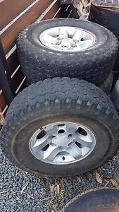 "Hilux 15"" Alloy Wheels & Bridgestone Tyres Brookdale Armadale Area Preview"