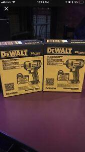 Dewalt 20v max impact wrench $150 each obo