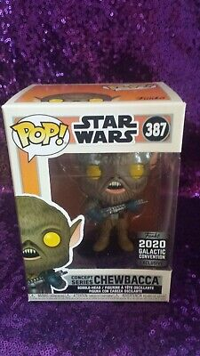 Funko Pop Star Wars Concept Series Chewbacca #387 - 2020 Galactic Convention