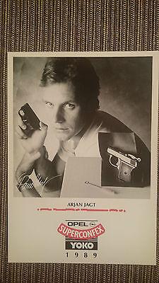 AK o.Orig.AG Arjan Jagt Team Superconfex - Yoko 1989 Rarität!