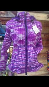 Fleece lined Siwash Sweaters. Cozy, Unisex,s to xl, easy care