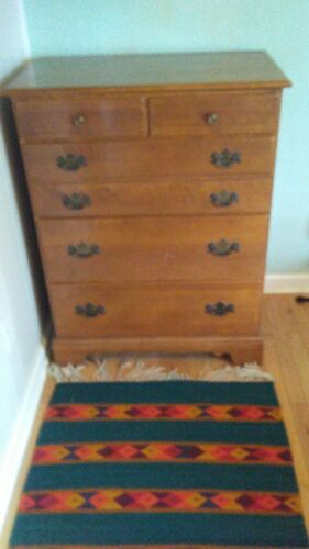 Ethan Allen Early American Solid Maple And Birch Dresser