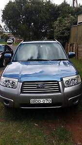 2007 Subaru Forester Wagon St Andrews Campbelltown Area Preview