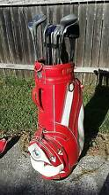 Professional Spalding Set of 12 Left-Hand Golf Clubs & Golf Bag Parramatta Parramatta Area Preview