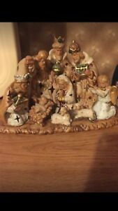 Christmas Nativity Set-Tree-Never Used Check Pictures