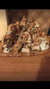 Christmas Nativity Set Price- Decoration Never Used