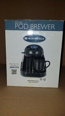 Dual Pod Coffee Brewer