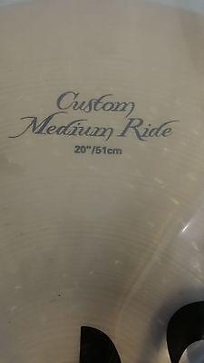 """Zildjian 20"""" K Custom Medium Ride K0854 best offer me lowest"""