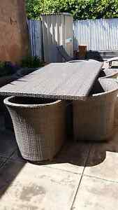 Wicker outdoor setting North Adelaide Adelaide City Preview