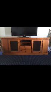 Wooden TV  Unit Inverell Inverell Area Preview