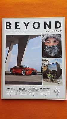 Beyond By Lexus magazine Issue 9 2016 LC 500 GS 350 F Sport CT 200h RX MINT