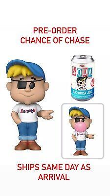Funko Soda Ad Icons Bazooka Joe *Confirmed Pre-Order* SEALED Ships Same Day