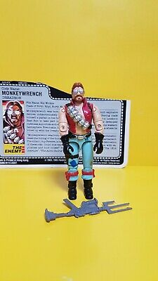 vintage Action Force/G.I.JOE DREADNOK MONKEYWRENCH figure complete.