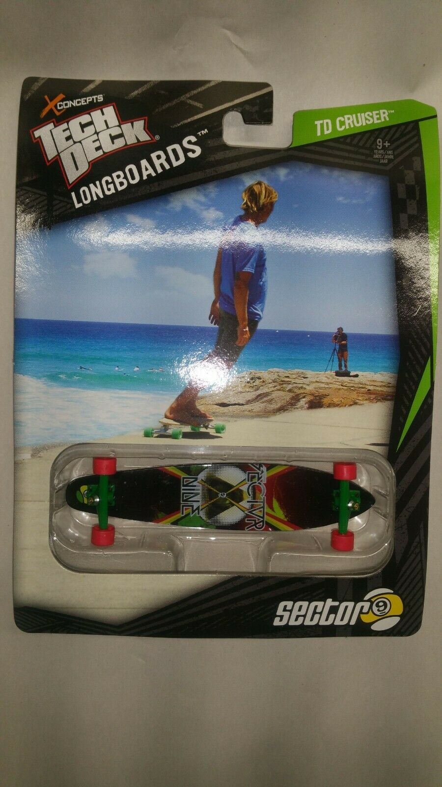 2012 Spin Master Tech Deck LongBoards ~ New from stored case