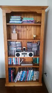 Baltic Pine Bookcase Royalla Queanbeyan Area Preview