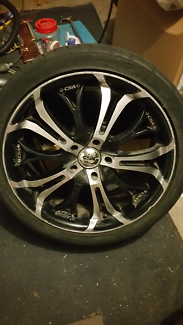 "CSA 18"" 114.3 FORD etc Alloy wheel Glen Waverley Monash Area Preview"