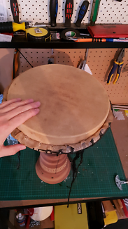 Djembe hand drum