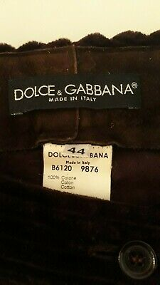 Dolce & Gabanna Velvet-Cordhose 3/4-lang Velvet Cord-hose