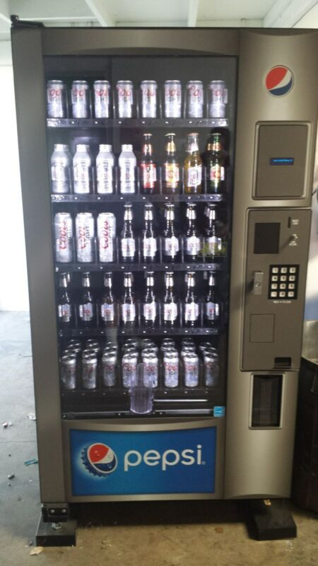 Beer, Wine & Champagne Vending Machine 6oz, 12, 15, 16 & 24oz Can & Bottles New