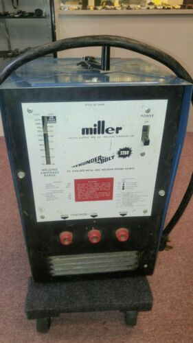 Miller Thunderbolt 225_AC Shielded Metal-Arc Welding Power Source_Auburn WA.