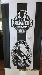 Collingwood 2010 Premiership Flag Winthrop Melville Area Preview