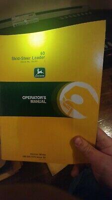 John Deere 60 24a 125 170 90 375 675b Skid Steer Maintenance Operator Manual