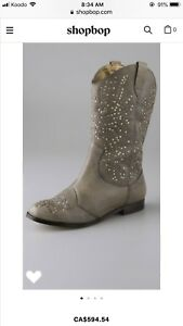 Cynthia Vincent boot size 35.5 retail $400+