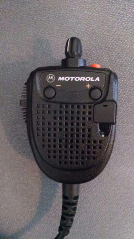 Motorola Public Safety Commander Speaker Microphone
