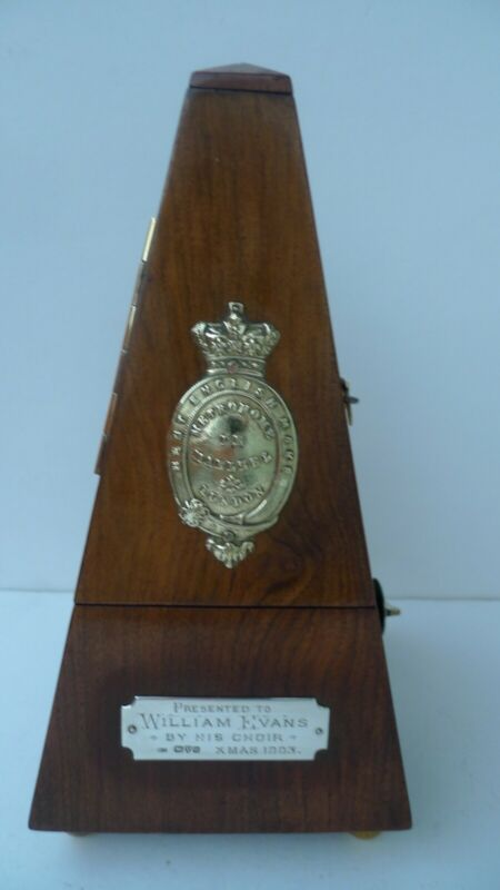Antique Victorian Metronome Best English Make London - Rare -