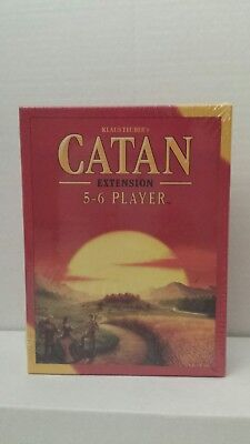 Brand New Sealed Settlers of Catan Board Game 5th Edition 5-6 Player EXTENSION