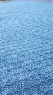 Freedom ELIAS wool rug 200x300cm blue (RRP $600)