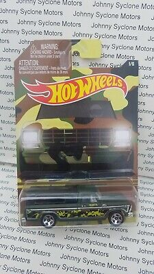 HOT WHEELS 1979 FORD F-150 PICKUP TRUCK WALMART CAMO SERIES GREEN